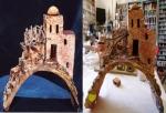 1/2 Luna di Taormina con casa/cupola araba,scalinata e attigua c