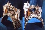 1/2 Luna di Taormina con ambientazione casa rurale,pozzo,capanna