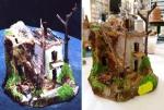 Ambientazione casa di agricoltore con vano fienile,stalla e carr