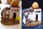 Casa c/cupol araba con ovile
